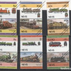 Sellos: NEVIS Nº 299 AL 310 (**). Lote 218765082