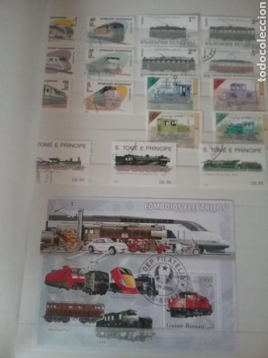 Sellos: SOBRE RAILES (I). Clasificador (6Hojas) Tematico. Trenes. Locomotoras. Ferrocarriles. Hay que verlo! - Foto 9 - 114001404