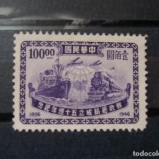 Sellos: CHINA ESTE 1896-1947 POSTAL SERVICES (MEDIOS TRANSPORTES TRENES). Lote 117867419