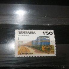 Sellos: SELLOS DE R. UNIDA TANZANIA NUEVOS. 1985. TRENES. LOCOMOTORAS. TRANSPORTES. RAILES. VAGONES.. Lote 126359463