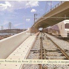 Sellos: PORTUGAL ** & TRAVESÍA FERROVIARIA DEL PUENTE 25 DE ABRIL 1999 (220). Lote 149593182
