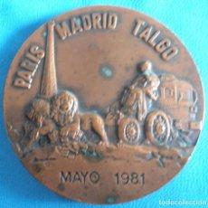 Sellos: MEDALLA, PARIS, MADRID ,TALGO, MAYO 1981. Lote 158944682