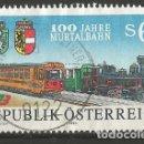 Sellos: AUSTRIA - 1994 - 100 AÑOS, TREN DE GAILTAL - MIRE MIS OTROS LOTES Y AHORRE GASTOS. Lote 160417846