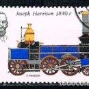 Sellos: POLONIA Nº 2429, LOCOMOTORA CREADA POR JOSEPH HARRISON EN 1840, USADO. Lote 160836258