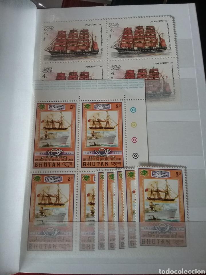 Sellos: MINI-Clasificador Barcos/Mismo precio; con o sin clasificador/veleros/flota/navios/VER FOTOS/2 - Foto 6 - 160954418