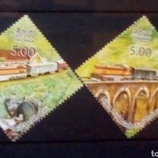 Sellos: SRI LANKA TRENES SERIE DE SELLOS NUEVOS. Lote 171051907