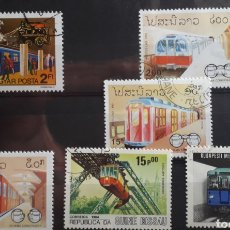 Sellos: SELLOS TRENES - VARIOS PAISES - 12. Lote 183402731