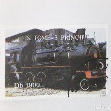 Timbres: TEMA TRENES SELLO USADO . Lote 189253356