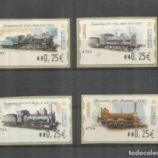 Sellos: ESPAÑA SPAIN ATM FERROCARRIL RAILWAY TREN. Lote 204496463