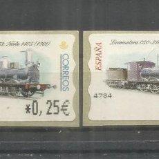 Sellos: ESPAÑA SPAIN ATM FERROCARRIL RAILWAY TREN. Lote 204496557