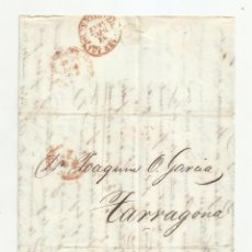 Sellos: CIRCULADA Y ESCRITA CONTABILIDAD JUNTA FERROCARRIL DE MATARÓ 1847 DE BARCELONA A TARRAGONA. Lote 217505086