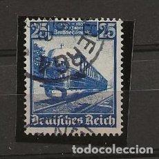 Sellos: SELLOS DEUTCHES REICH, TEMA TRENES. Lote 217988565