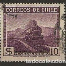Sellos: SELLO DE CHILE, TEMA TRENES. Lote 217989015