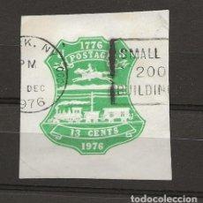 Sellos: TEMA TRENES, SELLO U.S.A. 1976. Lote 217990036