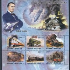 Sellos: GUINEA BISSAU 2005 IVERT 1920/5 *** TRENES - LOCOMOTORAS DE VAPOR. Lote 220069425