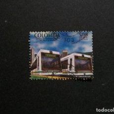 Sellos: /24.10/-COLOMBIA-1996-500 P. Y&T 1053 SERIE COMPLETA EN USADO/º/-TRANVIAS. Lote 222156888