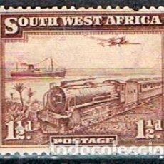 Sellos: NAMIBIA (AFRICA DE SUDOESTE, ADMINISTRACION DE SUDAFRICA Nº 181, TRANSPORTE DEL CORREO, GOMA INTACTA. Lote 223271475