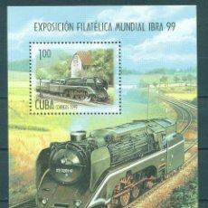 Sellos: 4219 CUBA 1999 MNH INTERNATIONAL STAMP EXHIBITION IBRA 99 - NUREMBERG, GERMANY. Lote 226310641