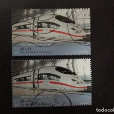 Sellos: ALEMANIA FEDERAL 2006. INTERCITYEXPRESS. YT:DE 2385,YT:DE 2387,. Lote 226393365