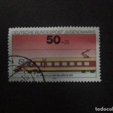 Sellos: ALEMANIA FEDERAL 1975. CLASS 403 ELECTRIC RAILCAR. YT:DE 687,. Lote 237209355
