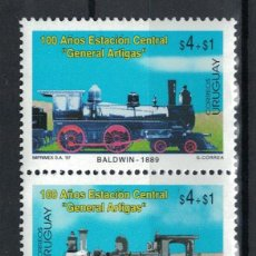 Sellos: UY2266 URUGUAY 1997 MNH THE 100TH ANNIVERSARY OF THE GENERAL ARTIGAS CENTRAL STATION, MONTEVIDEO. Lote 236772710