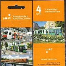 Sellos: FINLANDIA. 2007. TRANSPORTE PÚBLICO. YVERT 1816 / 1819. NUEVOS ** MNH. Lote 237298800