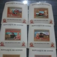 Sellos: SELLO R, GUINEA NUEVOS (SIN DENTAR)/2008/TRENES/LOCOMOTORA/FERROCARRILES/JOHN/SHEDD/RED/PRESIDENTE/I. Lote 255357680