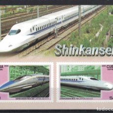 Sellos: ⚡ DISCOUNT CUBA 2009 HIGH SPEED TRAINS MNH - RAILWAYS, THE TRAINS. Lote 255623770