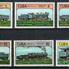 Sellos: ⚡ DISCOUNT CUBA 1984 LOCOMOTIVES MNH - THE TRAINS, LOCOMOTIVES. Lote 255626475