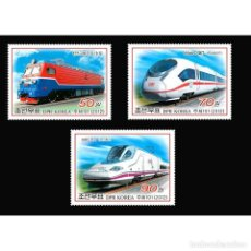 Sellos: ⚡ DISCOUNT KOREA 2012 LOCOMOTIVES MNH - THE TRAINS, LOCOMOTIVES. Lote 255631345