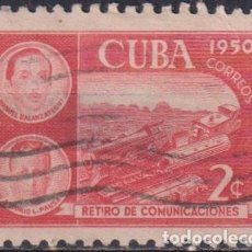Sellos: ⚡ DISCOUNT CUBA 1950 RETIREMENT FUND FOR POSTAL EMPLOYEES U - THE TRAINS. Lote 255641550