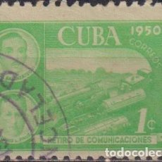 Sellos: ⚡ DISCOUNT CUBA 1950 RETIREMENT FUND FOR POSTAL EMPLOYEES U - THE TRAINS, POST SERVICES. Lote 255642265