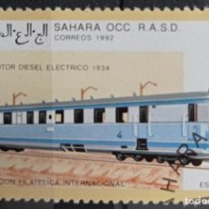 Timbres: SELLOS TRENES. Lote 260152310