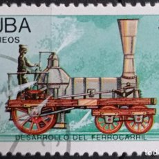 Timbres: SELLOS TRENES. Lote 260169390