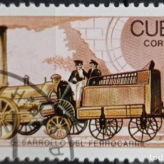 Timbres: SELLOS TRENES. Lote 260169480