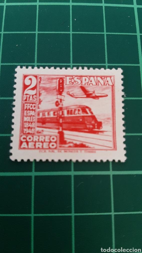 1948 FERROCARRILES ESPAÑA EDIFIL 1039 NUEVA PERFECTA FILATELIA COLISEVM VER MIS LOTES (Sellos - Temáticas - Trenes y Tranvias)