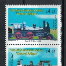 Sellos: ⚡ DISCOUNT URUGUAY 1997 THE 100TH ANNIVERSARY OF THE GENERAL ARTIGAS CENTRAL STATION, MONTEVID. Lote 266257073