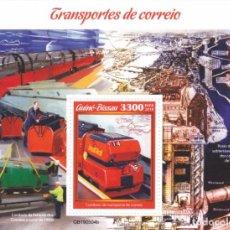Sellos: GUINEA BISSAU 2019 CORREO FERROCARRIL LONDRES. Lote 266504638