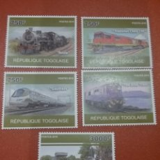 Sellos: SELLO TOGO (TOGOLAISE) NUEVO/2010/TRENES/AFRICANOS/FERROCARRILES/LOCOMOTORA/TRANSPORTE/ESTACION/PAI/. Lote 276743853
