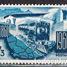 Sellos: SUDAFRICA Nº 274, CENTENARIO DE LOS FERROCARRILES SUDAFRICANOS., NUEVO ***. Lote 288404488