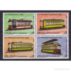 Sellos: ⚡ DISCOUNT URUGUAY 1998 50TH ANNIVERSARY OF THE CIRCLE FOR STUDIES ON PUBLIC TRANSPORT MNH -. Lote 289963623