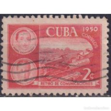 Sellos: ⚡ DISCOUNT CUBA 1950 RETIREMENT FUND FOR POSTAL EMPLOYEES U - THE TRAINS. Lote 289965638