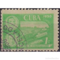 Sellos: ⚡ DISCOUNT CUBA 1950 RETIREMENT FUND FOR POSTAL EMPLOYEES U - THE TRAINS, POST SERVICES. Lote 289966103