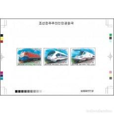 Sellos: ⚡ DISCOUNT KOREA 2012 LOCOMOTIVES MNH - THE TRAINS, LOCOMOTIVES, IMPERFORATES. Lote 289970983