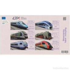 Sellos: ⚡ DISCOUNT POLAND 2021 MODERN RAILWAY ROLLING STOCK MNH - THE TRAINS, LOCOMOTIVES. Lote 289987008
