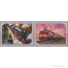 Sellos: RU2795 RUSSIA 2021 MNH TRANSPORTATION - MODERN TRAINS. Lote 293410553