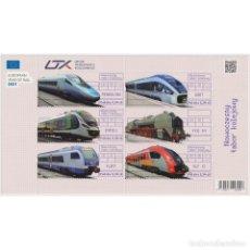 Sellos: PL5290 POLAND 2021 MNH MODERN RAILWAY ROLLING STOCK. Lote 293411398