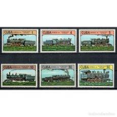 Sellos: ⚡ DISCOUNT CUBA 1984 LOCOMOTIVES MNH - THE TRAINS, LOCOMOTIVES. Lote 296035353