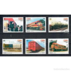 Sellos: ⚡ DISCOUNT CUBA 2010 THE 35TH ANNIVERSARY OF THE FIRST FAST TRAIN NG - THE TRAINS. Lote 296045518