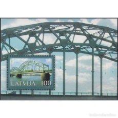 Sellos: ⚡ DISCOUNT LATVIA 2004 BRIDGES OF LATVIA MNH - BRIDGES, RAILWAYS, THE TRAINS. Lote 297135658